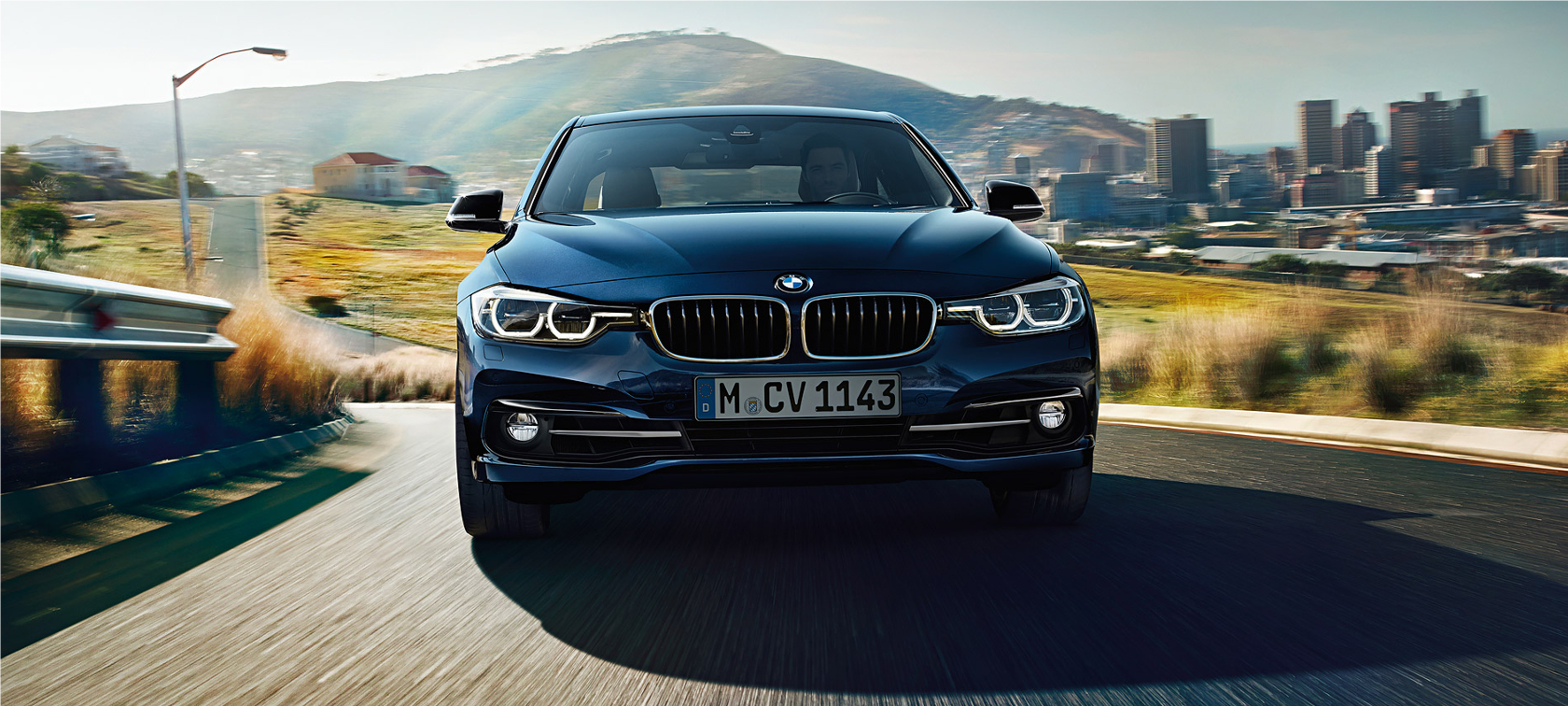 BMW Egypt Website: Home Page